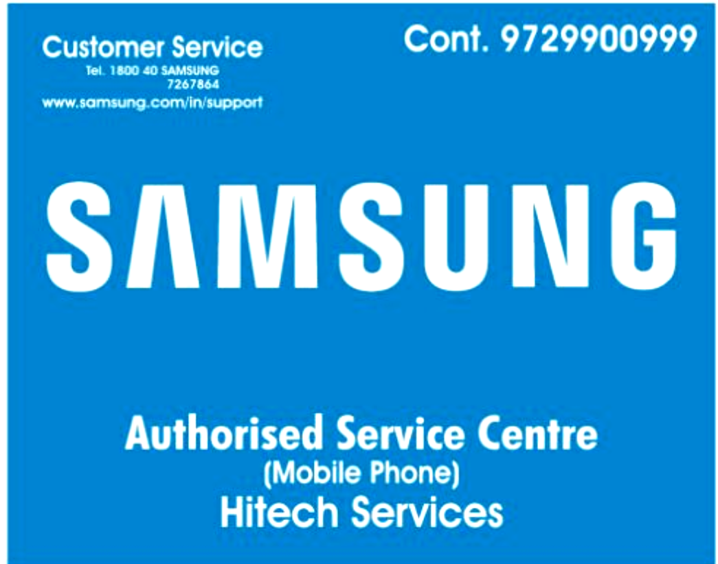 Samsung Service Center Hitech Services in Sector 23, Gurgaon