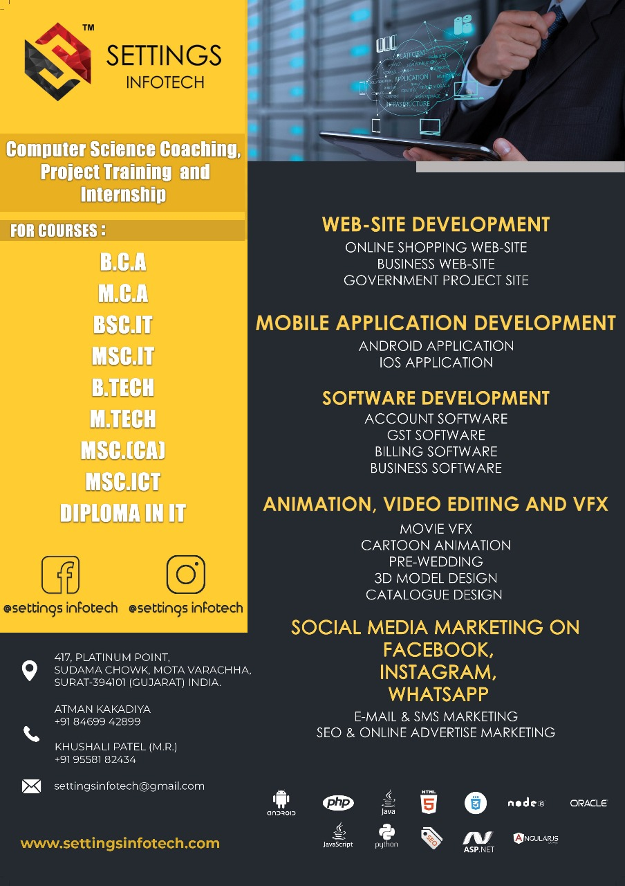 Web Technologies Training in Surat, Courses | Sulekha