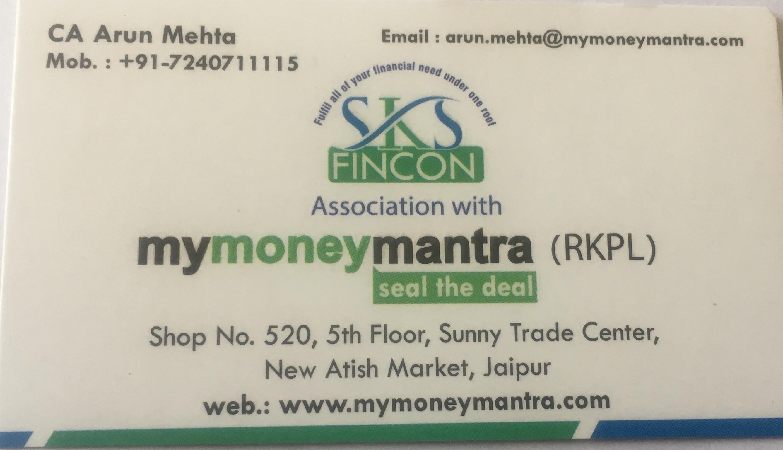 SKS Fincon My Money Mantra in Mansarovar, Jaipur-302020 | Sulekha Jaipur