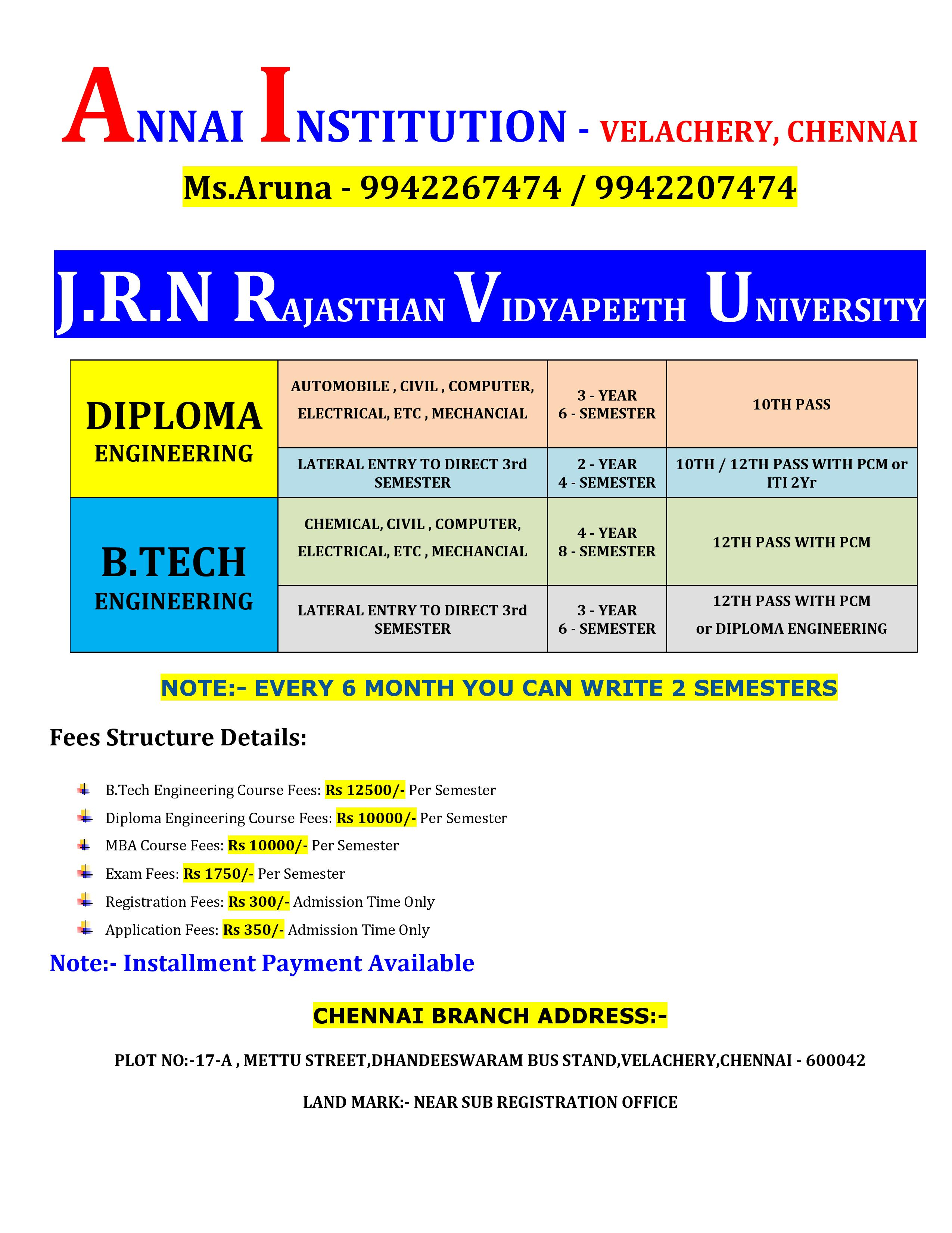 12th Open School Distance Education, Correspondence Courses