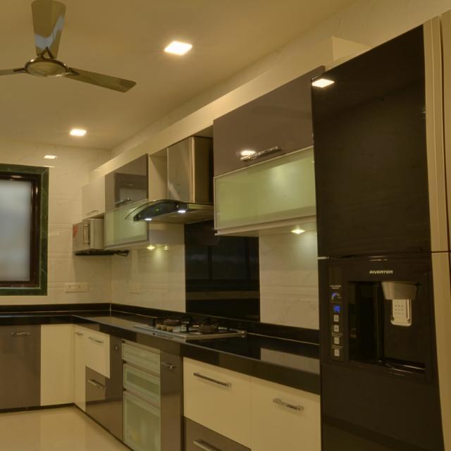 Stupendous The Square Modular Kitchens Interiors In Airoli Mumbai Interior Design Ideas Lukepblogthenellocom