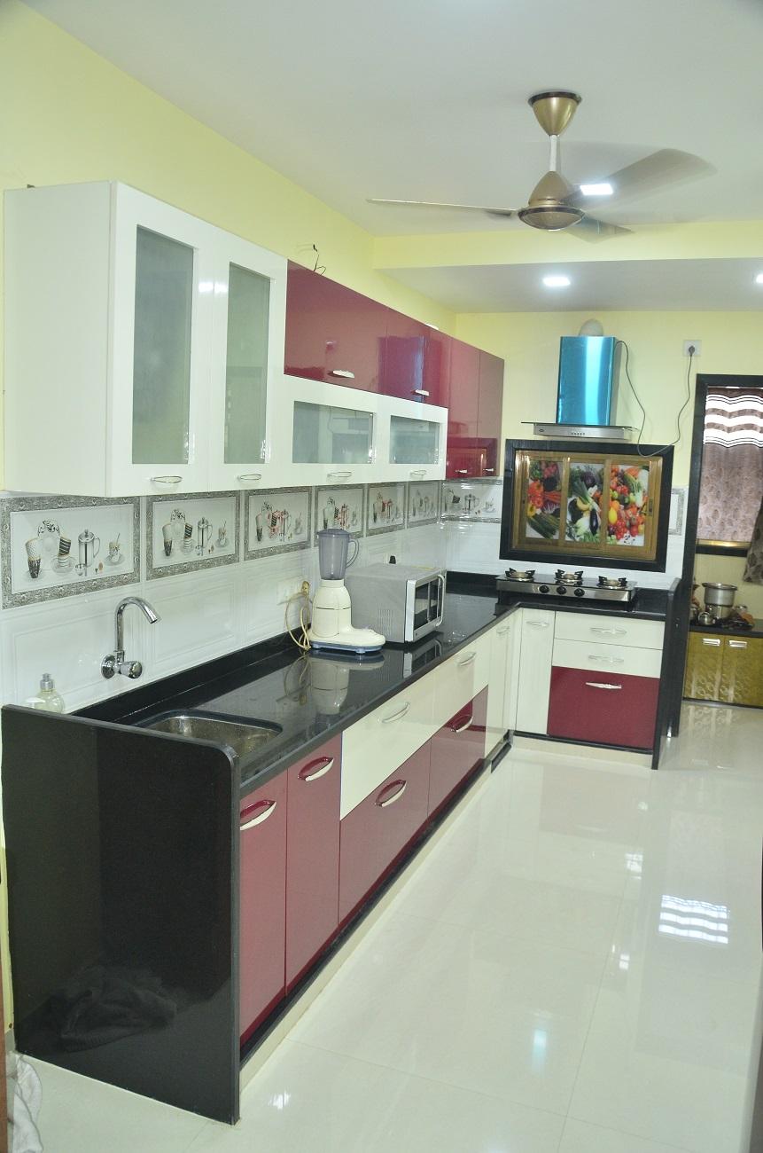 Cool The Square Modular Kitchens Interiors In Airoli Mumbai Interior Design Ideas Lukepblogthenellocom