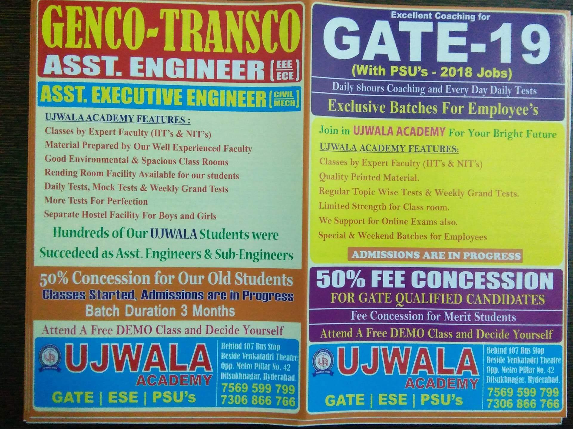 GATE Coaching Classes in Dilsukh Nagar, Hyderabad | Sulekha