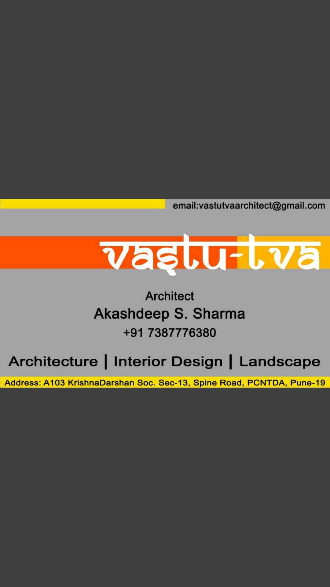 Vastu Tva Architects In Pimple Saudagar Pimpri Chinchwad