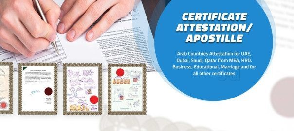 Certificate Attestation Services in Hyderabad, Agents