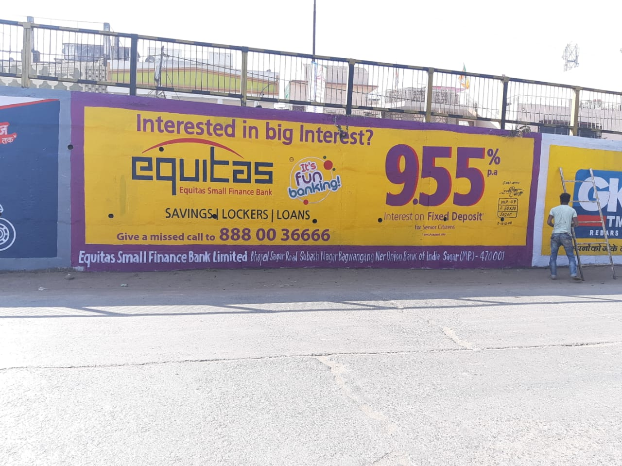 Wall Painting Advertising In Bhubaneshwar Bhubaneswar 751007