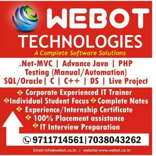 Java J2EE Training Institute in New Sangvi, Pune | Sulekha