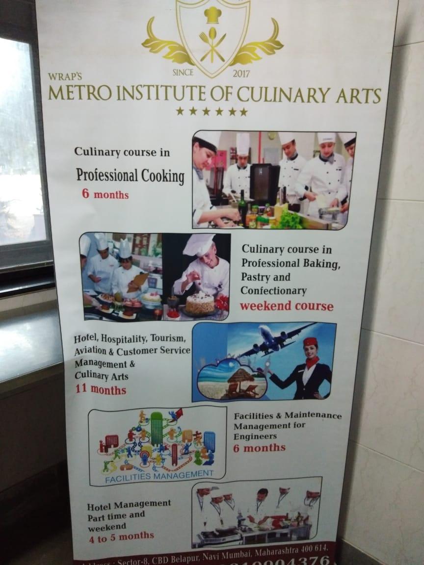 Wraps Metro Institute Of Culinary Arts in Thane, Mumbai-400614
