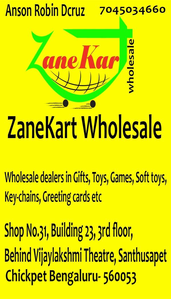 Zanekart Wholesale In Chickpet Bangalore 560053 Sulekha
