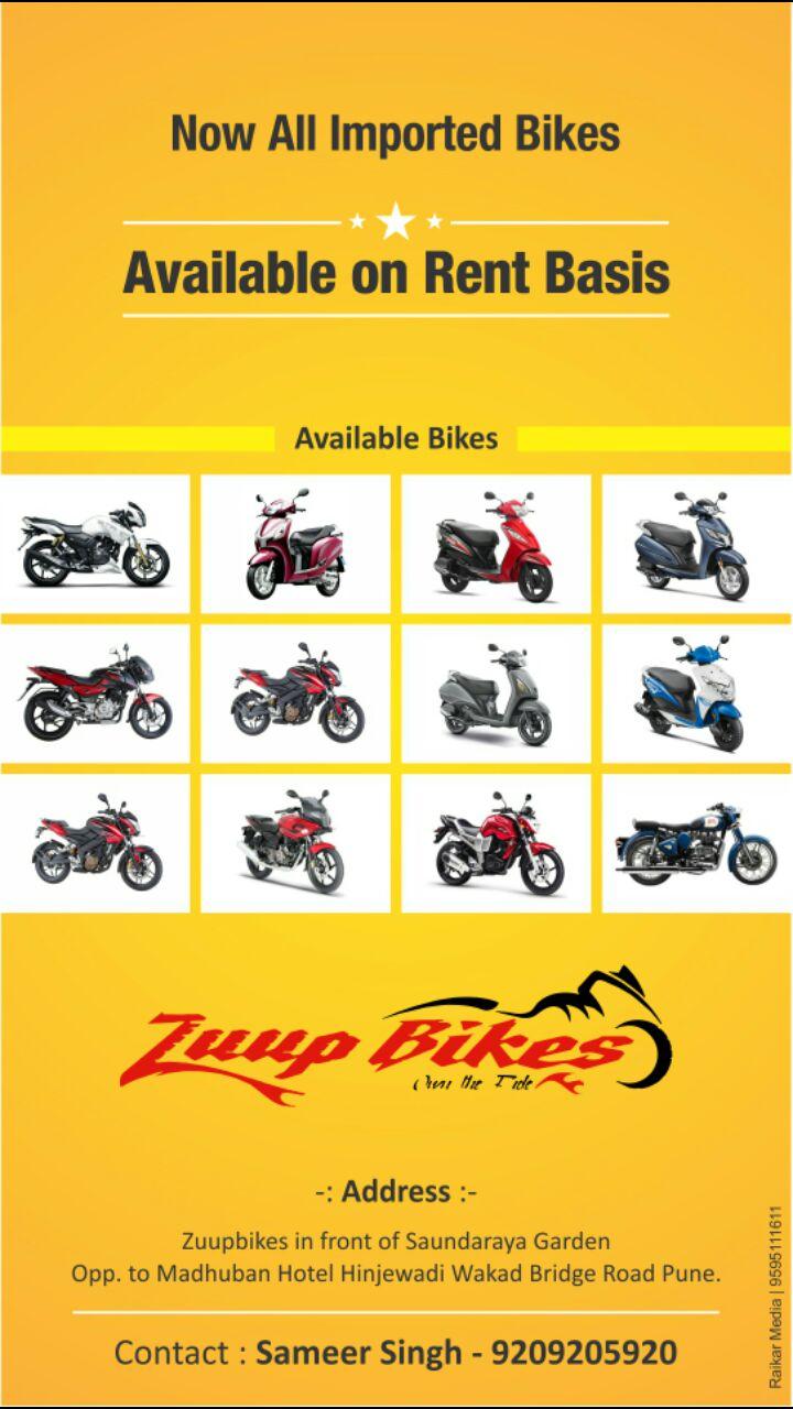 Zuup Bikes In Hinjewadi Pune 411057 Sulekha Pune